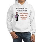 Genealogy Menu Hooded Sweatshirt