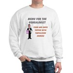 Genealogy Menu Sweatshirt