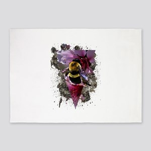 Bee Vibrant 5'x7'Area Rug
