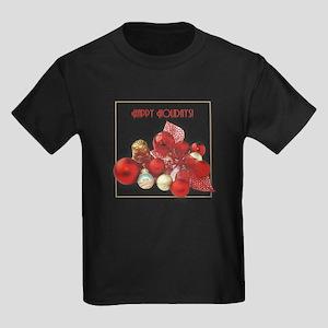Red, White, and Obama Kids Dark T-Shirt