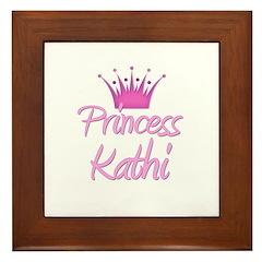Princess Kathi Framed Tile