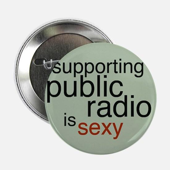 """Public Radio 2.25"""" Button"""