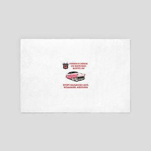 Pinkies Diner 4' x 6' Rug