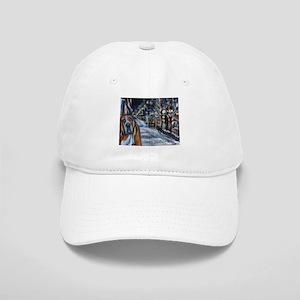 Basset Hound Holiday Cap