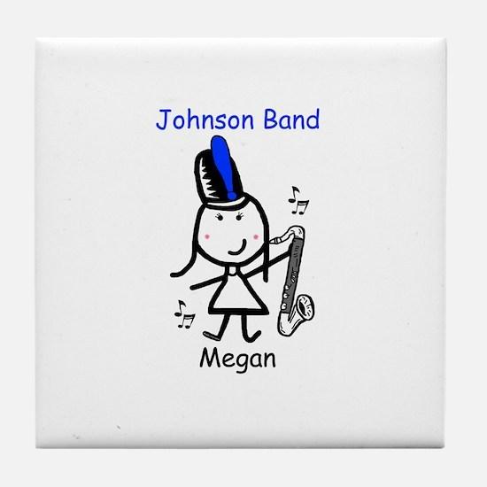 Bass Clarinet - Megan Tile Coaster