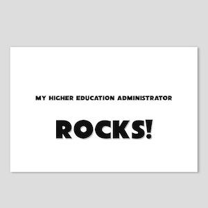 MY Higher Education Administrator ROCKS! Postcards