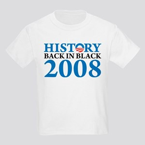 History Obama Back in Black Kids Light T-Shirt