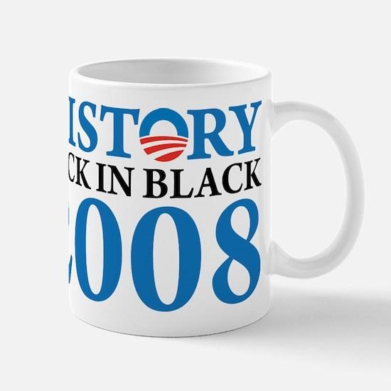 History Obama Back in Black Mug