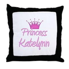 Princess Katelynn Throw Pillow