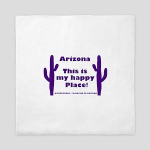 Arizona - My happy place Queen Duvet