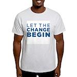 Let the Change Begin Light T-Shirt