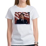 Reagan on Liberal Ignorance Women's T-Shirt