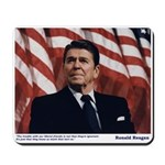 Reagan on Liberal Ignorance Mousepad
