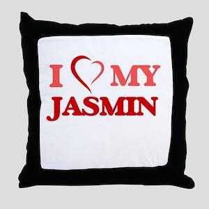 I love my Jasmin Throw Pillow