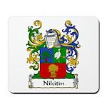 Nikitin Family Crest Mousepad