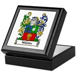 Nikitin Family Crest Keepsake Box
