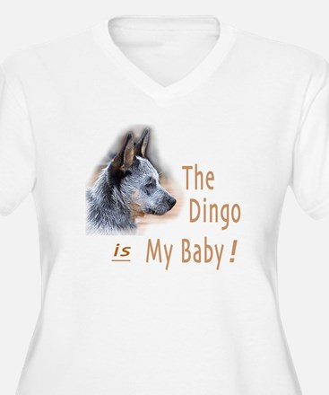 The Dingo is My Baby Plus Size T-Shirt