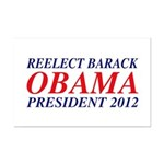 Reelect Obama 2012 Mini Poster Print