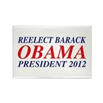 Reelect Obama 2012 Rectangle Magnet