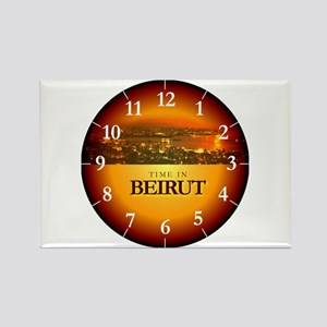 Time in Beirut Rectangle Magnet
