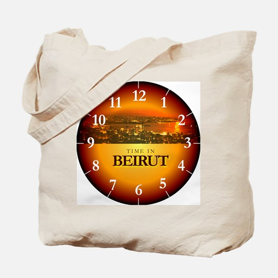 Time in Beirut Tote Bag