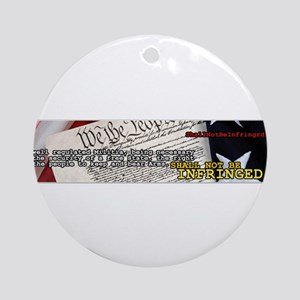 ShallNotBeInfringed.org Ornament (Round)