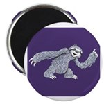 sloth_purple_tall Magnets