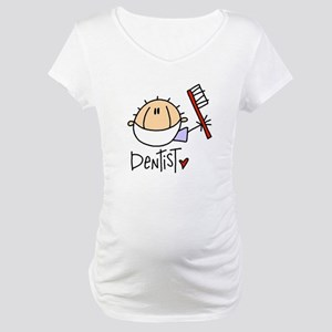 Male Dentist Maternity T-Shirt