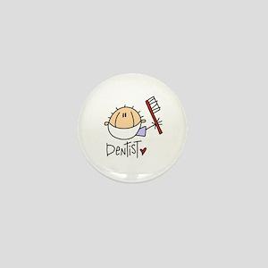 Male Dentist Mini Button