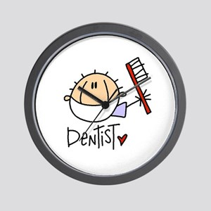 Male Dentist Wall Clock