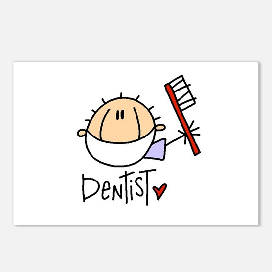 Male Dentist Postcards (Package of 8)