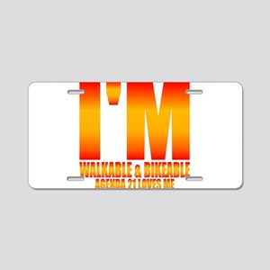 iwaba21lm Aluminum License Plate