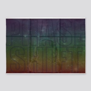 Phase Shift 5'x7'Area Rug
