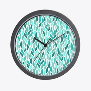 Mosaic Pattern Wall Clock