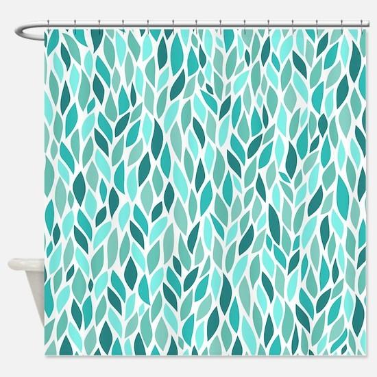 Mosaic Pattern Shower Curtain
