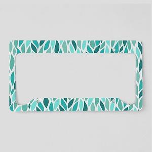 Mosaic Pattern License Plate Holder