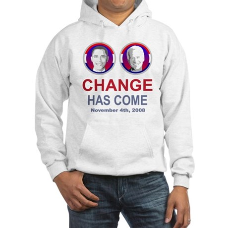 OBAMA SHOPS: Hooded Sweatshirt