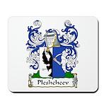 Pleshcheev Family Crest Mousepad