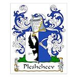 Pleshcheev Family Crest Small Poster