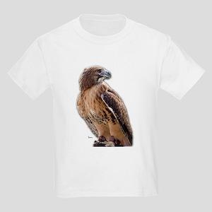 Red Tail Hawk (3) Kids T-Shirt