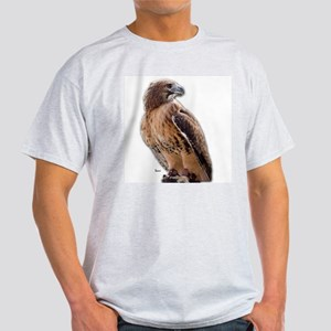 Red Tail Hawk (3) Ash Grey T-Shirt