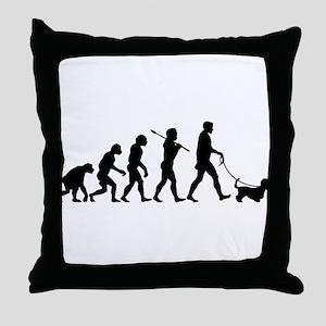 Dandie Dinmont Terrier Throw Pillow