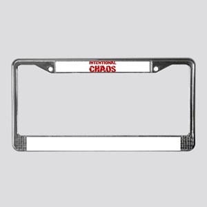intchaos License Plate Frame