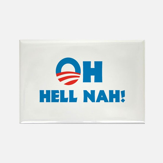 Oh hell nah! Rectangle Magnet (10 pack)