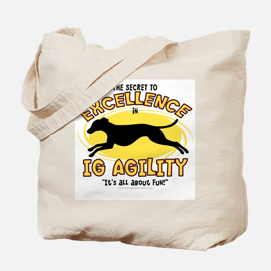 The Secret to IG Agility Tote Bag