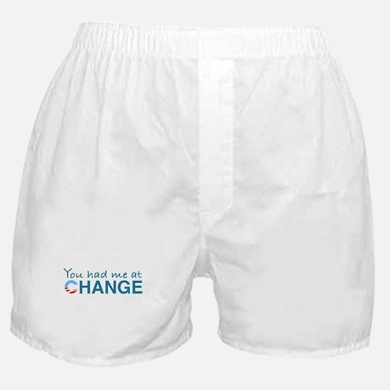 You had me at Change Boxer Shorts