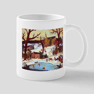 WINTER IN GRASSNUT VALLEY Mug