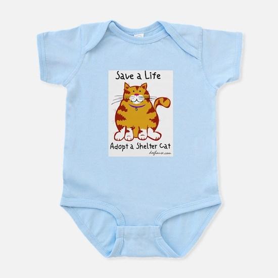 Shelter Cat Infant Creeper