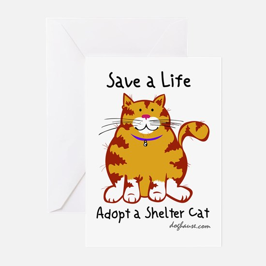 Shelter Cat Greeting Cards (Pk of 10)