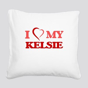 I love my Kelsie Square Canvas Pillow